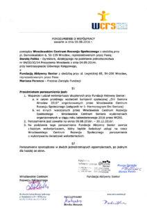 Wrocławskie Centrum Rozwoju Społecznego - 08.08.2016