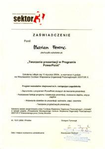 Kurs PowerPoint - 15.01.2009