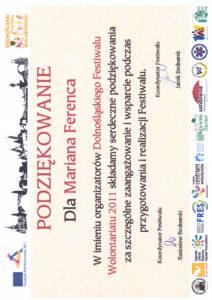 Dolnośląski Festiwal Wolontariatu - 2011