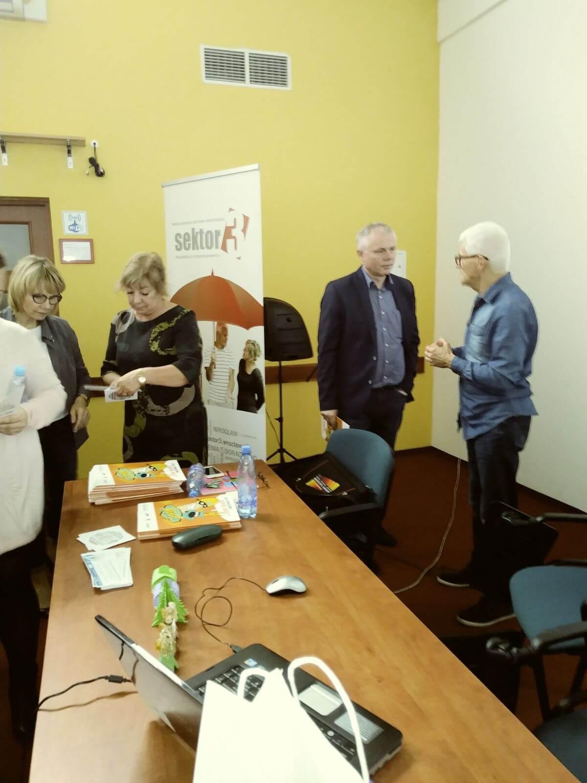 Wizyta studyjną w Fundacji Aktywny Senior
